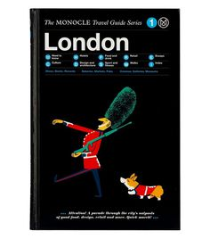 #london #bookcover #illustration #guide #monocle # gestaultren #travelguide