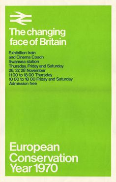 British Rail Poster #british #design #graphic #rail #poster