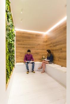 green wall / Pablo Muñoz Payá Arquitectos