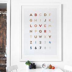 Letter Love on Typography Served