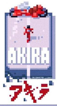 nonclickableitem #akira #colour #pixelated #cool