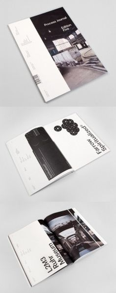 Process Journal Edition 5 | AisleOne #graphic design #typography #layout #book cover