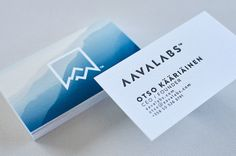 Business card with stunning background #logo #design #letterpress #logo #design #letterpress