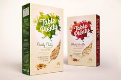 Before & After: Table of Plenty — The Dieline #packaging