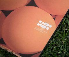 Macro/Micro: A Typographic Landscape / PRINCIPLE DESIGN #brading #balloons
