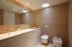 Lake Lugano House by JM Architecture #ideas #interiors #bathroom