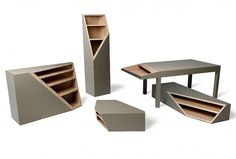 CUTLINE | Hole Design Studio #furniture