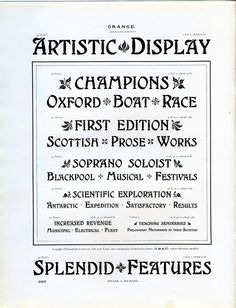 A type specimen of Grange by Miller and Richard
