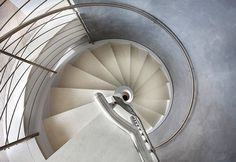 Concrete Spiral Staircases by Rizzi spiral lightweight concrete #interior #concrete #spiral #stairs #staircases
