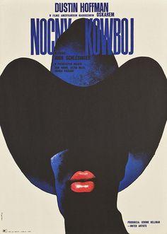 Midnight Cowboy #movie #waldemar #midnight #poster #swierzy #cowboy