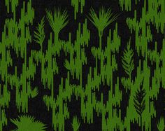 Illustrations from Jeff VanderMeer's ANNIHILATION by Patryk Mogilnicki 1a #illustration #nature #pattern