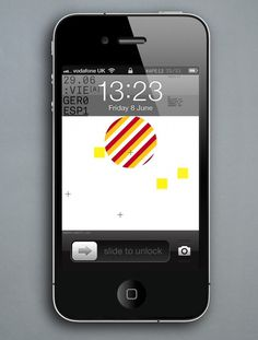 Creative Review - Accept & Proceed's Euro 2012 screensavers #iphone #acceptproceed