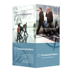 Business Travel Documents Folder Template