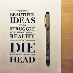 You have Beautiful ideas