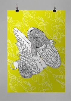 NEW SHOES on the Behance Network #shoes #colomboni #graphic #antonio #illustration