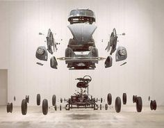 Damián Ortega «Cosmic Thing» 2002. | Φrbit° sφaceφlace :: art in the age øf Φrbitizatiøn