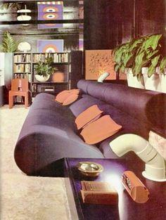 WANKEN - The Blog of Shelby White » The Interiors of Mid-Century Modern #interior #sofa #modern #design #vintage #midcentury