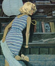 All sizes | Robert McGinnis illustration 02 | Flickr - Photo Sharing! #mcginnis #illustration #robert #painting