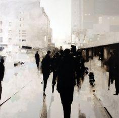 scotch & jazz @ dusk #contemporary #painting