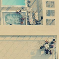 summer's here | Flickr - Photo Sharing! #aerial #pool #photography #summer #lounging