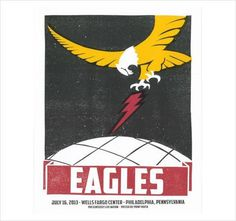 Print Mafia - Eagles Gig Poster #mafia #gig #print #the #poster #eagles