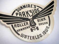 hammond organ! #white #wings #retro #black #seal #logo