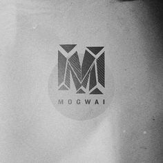 M is for mogwai | Flickr - Photo Sharing! #mogwai #print #design #lorenzo #poster