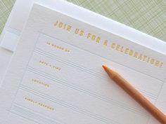 Twig & Thistle » Duet Letterpress #design #graphic