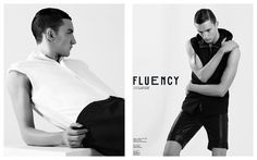 fluency | Volt Café | by Volt Magazine #white #design #graphic #volt #black #photography #art #and #fashion #layout #magazine #typography