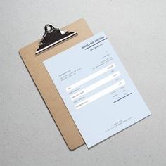 Invoice Template Editable Invoice Blue Invoice Word | Etsy
