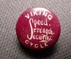 All sizes | Viking Cycle Button | Flickr - Photo Sharing! #badge #type #drawn #logo #hand