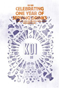 koi #poster #print #branding #illustration