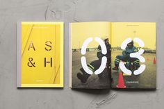 Architects Soini & Horto branding yellow helsinki logo logotype mindsparkle mag black logo logotype type typography print magazine cover new