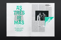 Festivais Gil Vicente 2011 on the Behance Network #martinojaa #atelier #magazine