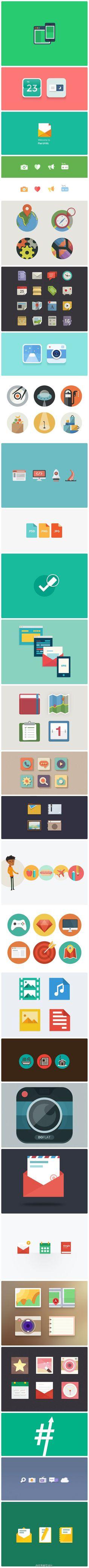 Flat Icons #flat #icons