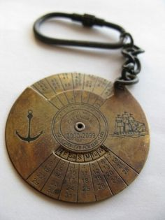 the Sea-Farer #old #year #sailor #calendar #ship #key #time #anchor