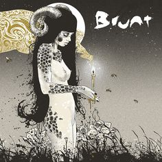 Brunt 2014 on Behance #album #vinyl #illustration #art #music