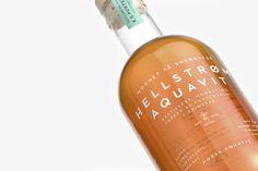 Hellstrøm Aquavit Packaging - Mindsparkle Mag