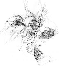 Étude Op. 1 No. 2 by Sougwen Chung #sougwen #illustration #chung