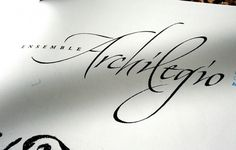 Graphic-ExchanGE - a selection of graphic projects #script #handdrawn