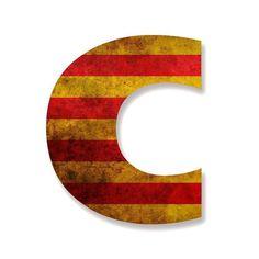 Catalan C #font #catalonia #c #typography