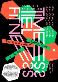 KA003_A1 Plakat_RZ_281013 LQ #colour #graphic #poster #typography
