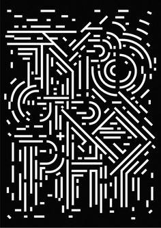 Sasakishun / graphic #type #poster
