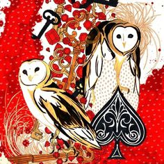 Hannah Stouffer Illustration #hannah #owls #stouffer #bling #awesome