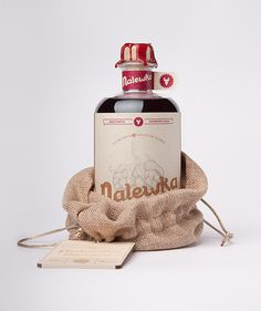Nalewka by Foxtrot Studio #packaging #branding #inspiration #alcohol