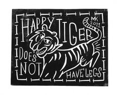 1_happytiger.jpg (839×671) #kluin #illustration #menno