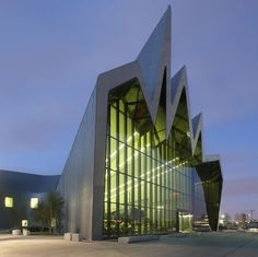 Dezeen » Blog Archive » Riverside Museum by Zaha Hadid Architects #museum #glasgow