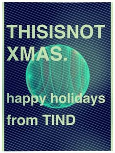 tind #holidays #tind #poster #xmas #noel