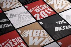 New Work: London Design Festival 2011 | New at Pentagram | Pentagram #invitations #identity