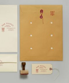 sam tootal stationery #identity